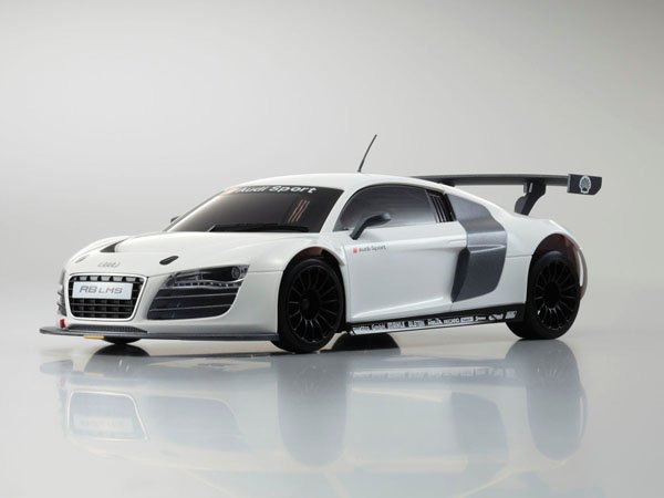 kyosho autoscale audi r8 lms weiss ma020. Black Bedroom Furniture Sets. Home Design Ideas