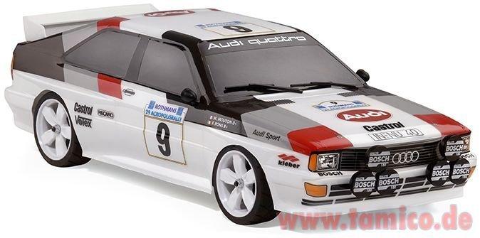 Carson 500069240 Aufkleber Audi Quattro Gruppe 4