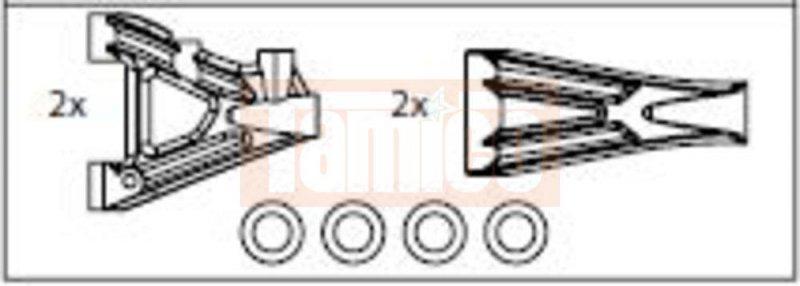 carson 500105287 cv 10 querlenkerset vorne hin. Black Bedroom Furniture Sets. Home Design Ideas