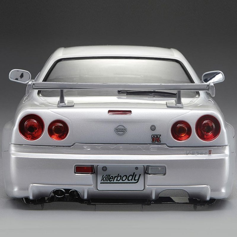 Nissan Skyline All Generations: Nissan Skyline R34 195mm, Pearl-white Finished, RTU All-in