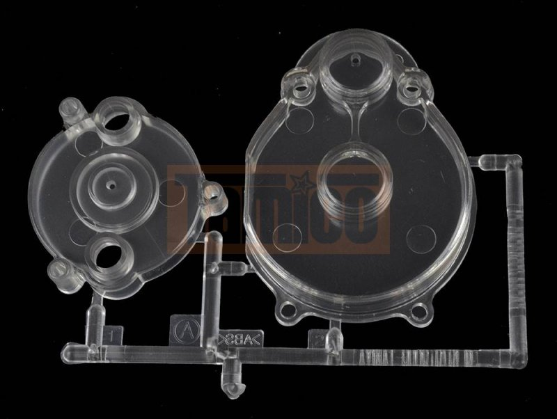 Tamiya A-Teile (Motor- & Ritzelabdeckung) Fighting Buggy (84389)
