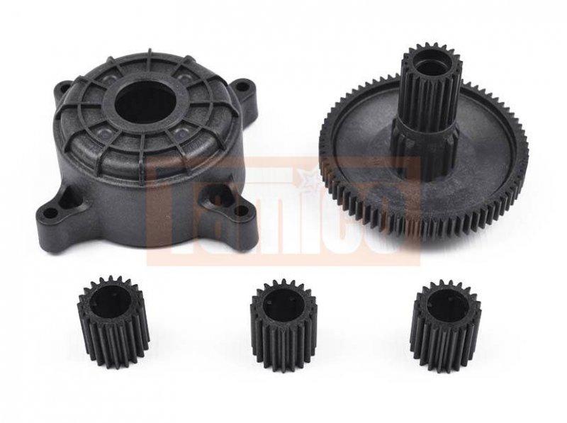 Jeep Differential Tamiya Getriebe-Satz (Planetengetriebe) CR-01 #51325