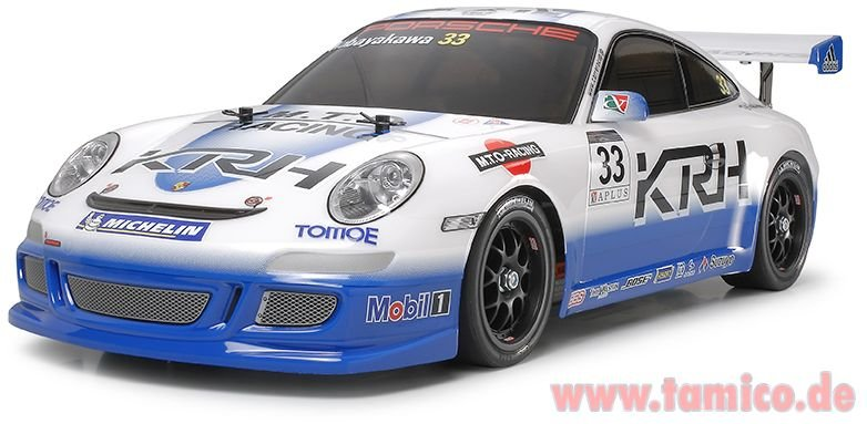tamiya karosserie porsche 911 gt3 2007 1825524. Black Bedroom Furniture Sets. Home Design Ideas
