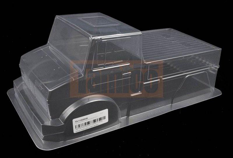 Unimog For Sale >> Tamiya Karosserie Unimog 425 (unlackiert) CC-01