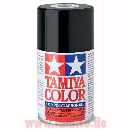 tamiya lexan spray dose ps 5 schwarz black farbspray. Black Bedroom Furniture Sets. Home Design Ideas