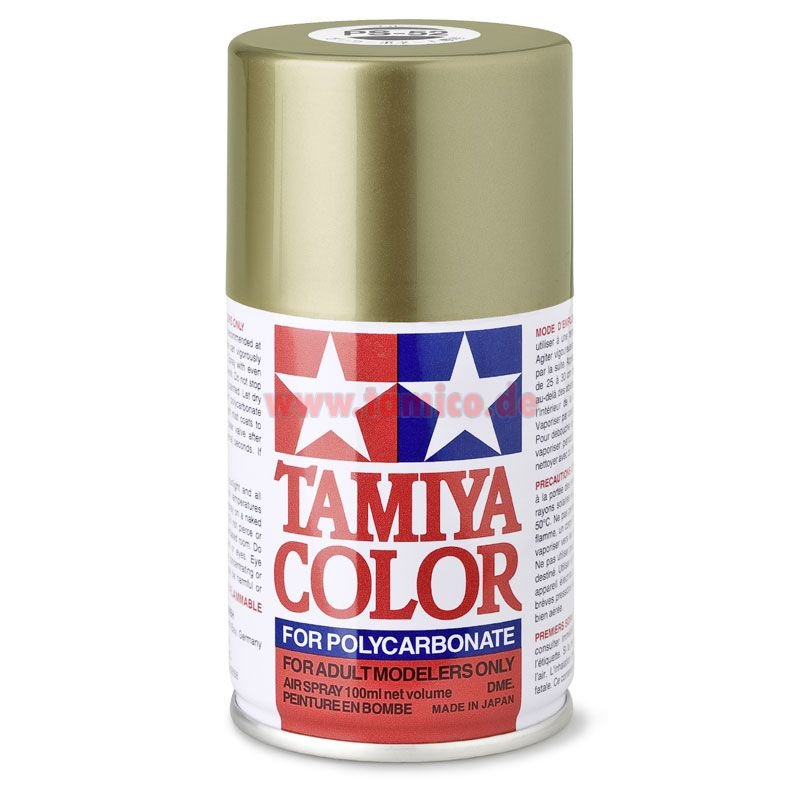 Tamiya Lexan Spray Paint Ps  Black