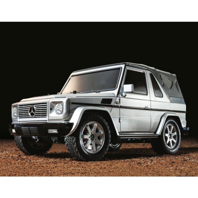 tamiya mercedes benz g klasse g320 cabrio mf 01x chassis. Black Bedroom Furniture Sets. Home Design Ideas