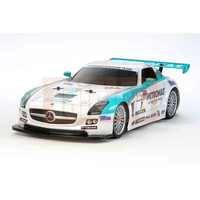 tamiya karosserie satz mercedes benz sls amg petronas 51519. Black Bedroom Furniture Sets. Home Design Ideas