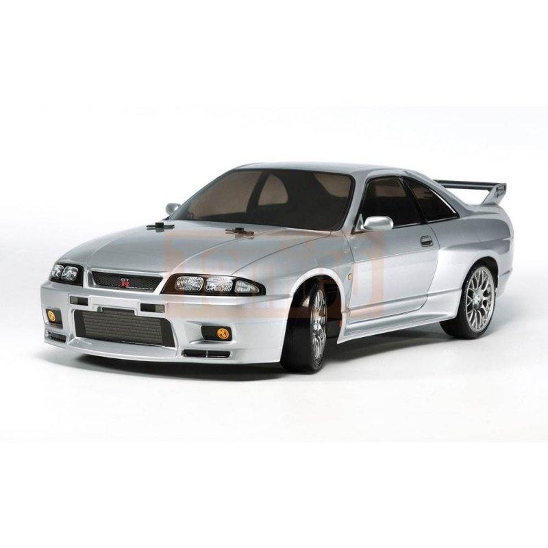 Nissan Skyline All Generations: Tamiya Nissan Skyline GT-R R33 (TT-02D) Drift Spec Bausatz