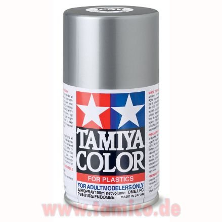 tamiya spray ts 17 alu silber gloss aluminum gl nzend 100ml. Black Bedroom Furniture Sets. Home Design Ideas