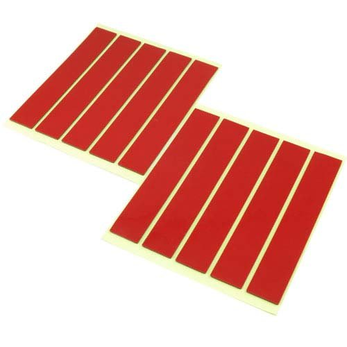yeah racing doppelseitiges klebeband 10 streifen hohe klebekraft h. Black Bedroom Furniture Sets. Home Design Ideas