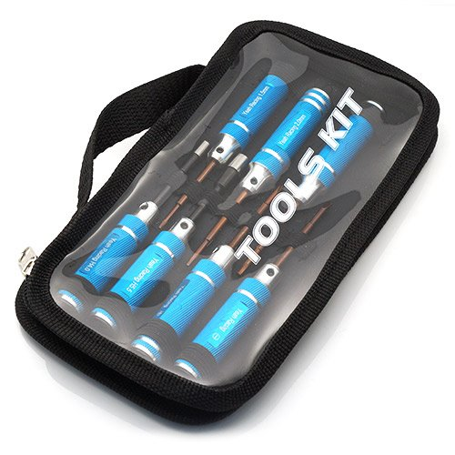 yeah racing werkzeug satz mit tasche 8 teilig blau. Black Bedroom Furniture Sets. Home Design Ideas