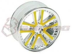 3Racing 1/10 5 Dual Spoke Rim On Road (0 Offset - 24mm) 4...