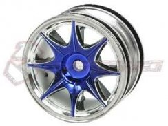 3Racing 1/10 8 Spoke Wheel-Satz für Tamiya M-Chassis...