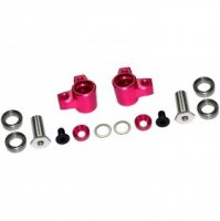3Racing 2ways 90° Multi Mixing Arm pink für Sakura D4