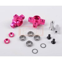 3Racing 3ways Multi Mixing Arm pink für Sakura D4