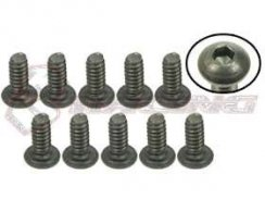 3Racing #4-40 x 1/4 Titan Button Head Hex Socket -...