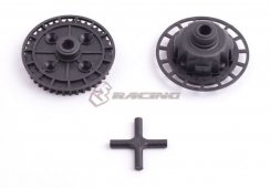 3Racing 40T Gear Diff. Plastic Replacement für Sakura...