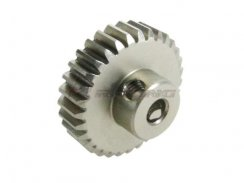 3Racing 48 Pitch Pinion Gear 33T (7075 mit  Hard Coating)