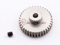 3Racing 48 Pitch Pinion Gear 37T (7075 mit  Hard Coating)