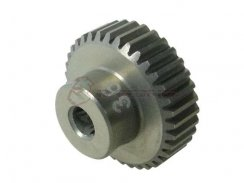 3Racing 64 Pitch Pinion Gear 36T (7075 mit  Hard Coating)