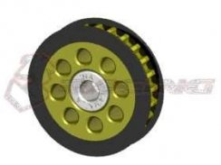 3Racing Alu Center One Way Pulley Gear T25