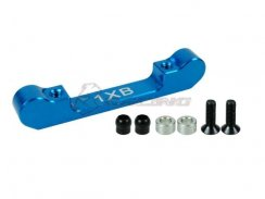 3Racing Alu Suspension Mount (1XB) - Ver, 2 für TRF415