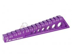 3Racing Chassis Droop Gauge -3,5 to 9,5mm - Purple