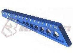 3Racing Chassis Droop Gauge -4 to 10mm - Blue