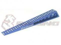 3Racing Chassis Ride Height Gauge 0,5 - 15 (Step) - Blue