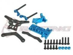 3Racing Extension Wheel Base Kit 257mm für M05