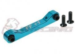 3Racing Front Alu Suspension Mount (FF/1 Degree) für TA-05