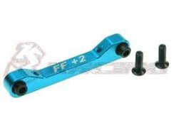3Racing Front Alu Suspension Mount (FF/2 Degree) für TA-05