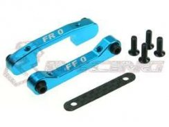 3Racing Front Alu Suspension Mount-Satz (0 Degree) für TA-05