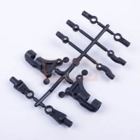 3Racing Front Composite Upper Suspension Arm For SAKURA D4