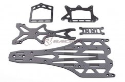 3Racing Graphite Chassis Conversion Kit für 3Racing F109