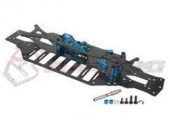 3Racing Graphite Chassis Conversion Kit für TA05