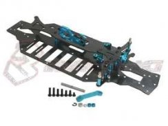 3Racing Graphite Chassis Kit für TA-05IFS