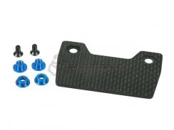 3Racing Graphite Radio Tray für M06