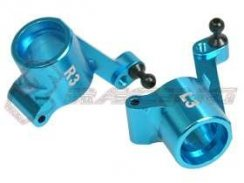 3Racing Rear Alu Hub Carrier (3 Degree) für GB-01
