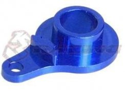 3Racing Servo Saver Horn-single Hole- Blue H=18mm für Tamiya