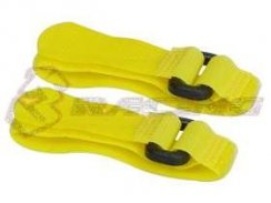3Racing Short Battery Straps (20cm) - Yellow