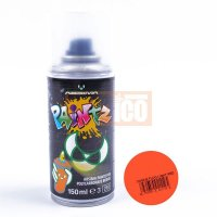 Absima Polycarbonat Spray PAINTZ FLUO HELL ROT 150ml