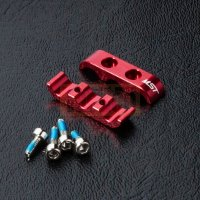 Alum. 3 wires clamps (red)