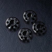 Alum. spring retainer (lower type) (4) (black)