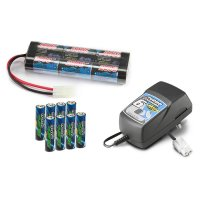 Carson Elektro Starter-Kit (Lader, 7.2V Stickpack,...