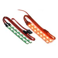 Carson 500906233 LED Lichtstab Set orange