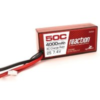 Dynamite Reaction 7.4V 4000mAh 2S 50C LiPo Shorty 96mm