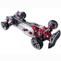 FXX-D VIP FRM 2WD Electric Shaft Driven Car (red)