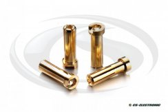 G5 Goldkontakt Stecker 5mm -Low Profile- 160A- (4)